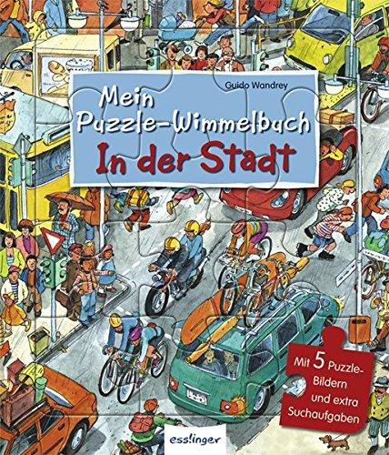 9783480226528: Mein Puzzle-Wimmelbuch - In der Stadt
