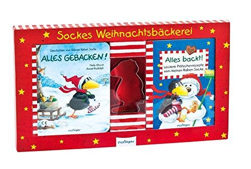 9783480230174: Sockes Weihnachtsbäckerei: Backbüchlein + Ausstechform