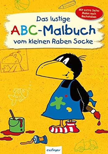 9783480231355: Das lustige ABC-Malbuch vom kleinen Raben Socke