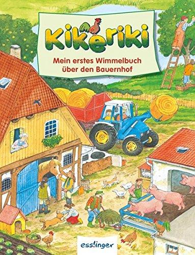 9783480231775: Kikeriki - Mein erstes Wimmelbuch vom Bauernhof - Mini-Wimmelbuch