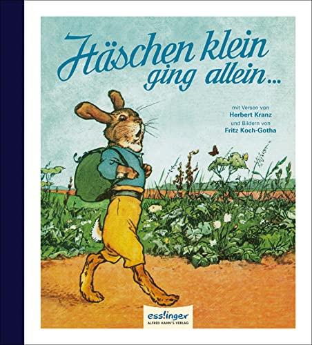 Häschen klein, ging allein.: Ein lustiges Bilderbuch: Herbert Kranz
