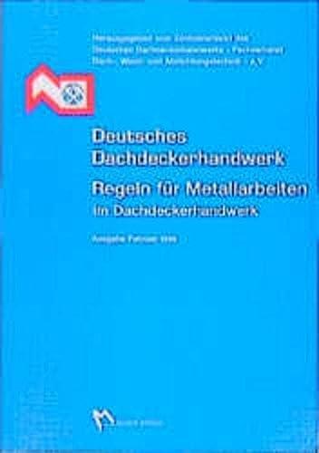 9783481016197: Regelwerk Dachdeckerhandwerk Metall
