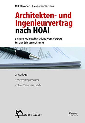 Architekten- und Ingenieurvertrag nach HOAI: Ralf Kemper