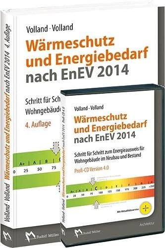 9783481031589: W�rmeschutz und Energiebedarf nach EnEV 2014 - Kombi: Buch + Profi-CD