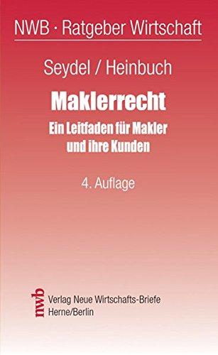 9783482426445: Maklerrecht