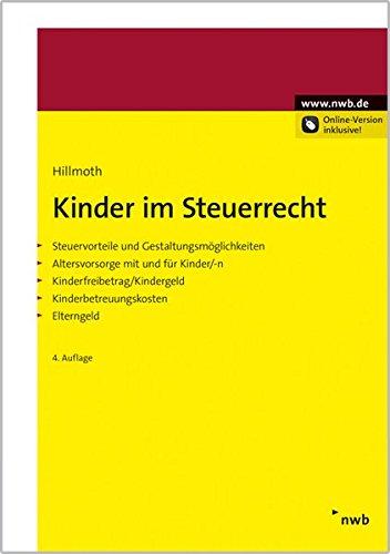 Kinder im Steuerrecht: Bernhard Hillmoth