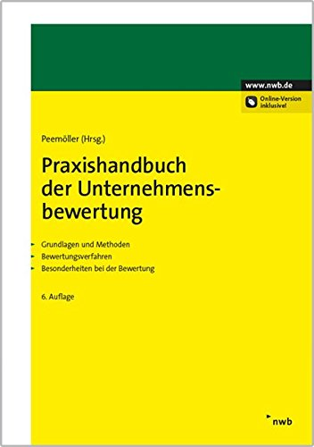 Praxishandbuch der Unternehmensbewertung: Niels Ahlemeyer