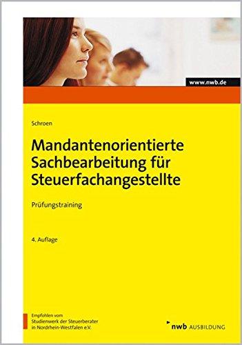 9783482517242: Prüfungstraining Mandantenorientierte Sachbearbeitung für Steuerfachangestellte