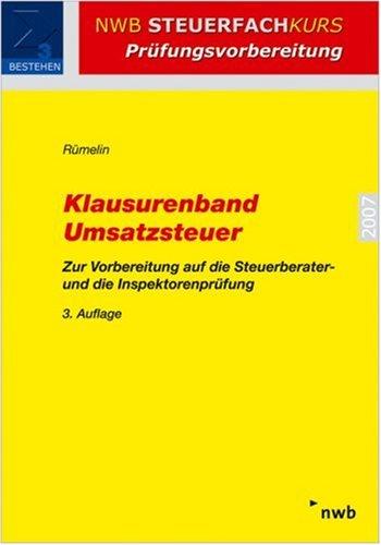 9783482535338: Klausurenband Umsatzsteuer