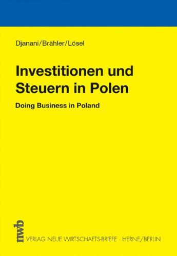 9783482545412: Investitionen und Steuern in Polen: Doing Business in Poland