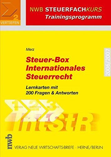 9783482545610: Steuer-Box Internationales Steuerrecht