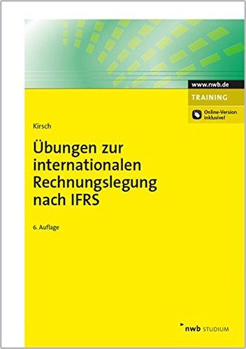 9783482549663: �bungen zur internationalen Rechnungslegung nach IFRS