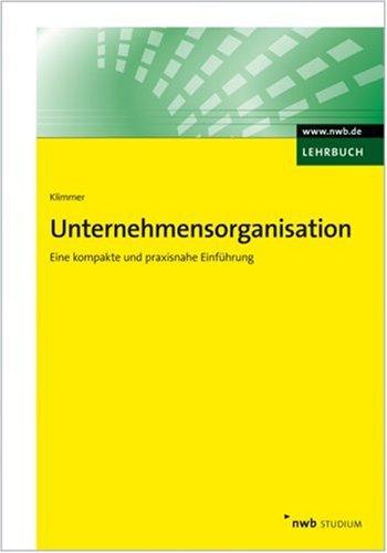 9783482549717: Unternehmensorganisation