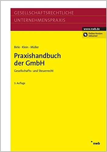 Praxishandbuch der GmbH: J�rgen P. Birle