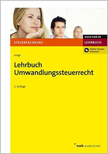 9783482585029: Lehrbuch Umwandlungssteuerrecht
