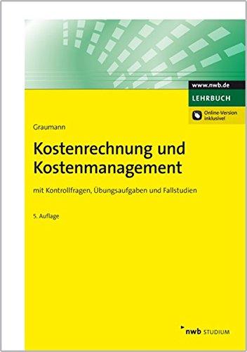 9783482592829: Kostenrechnung und Kostenmanagement