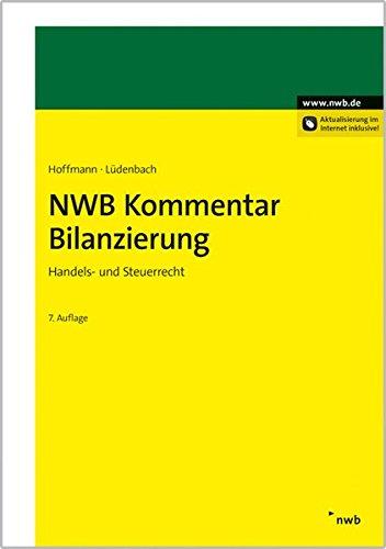 NWB Kommentar Bilanzierung: Wolf-Dieter Hoffmann