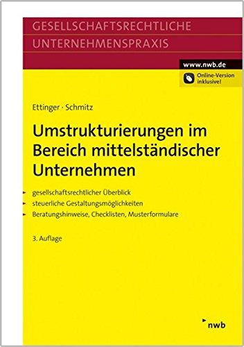 Umstrukturierungen im Bereich mittelständischer Unternehmen: Jochen Ettinger