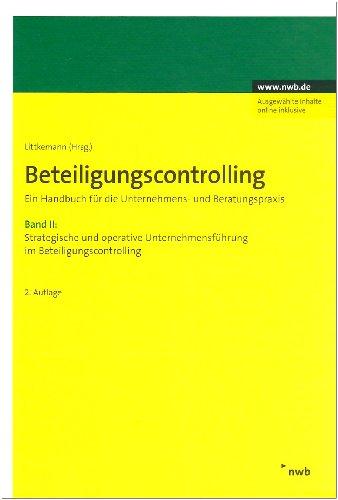 Beteilungscontrolling, Bücherpaket, 2 Bde. Bd.I + II: Jörn Littkemann
