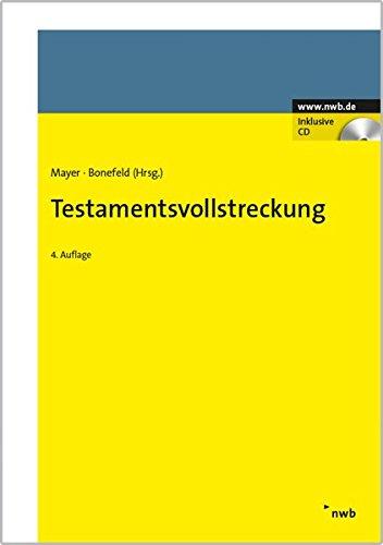 Testamentsvollstreckung: Jörg Mayer