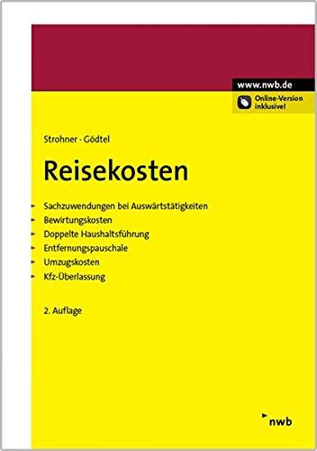 Reisekosten: Klaus Strohner
