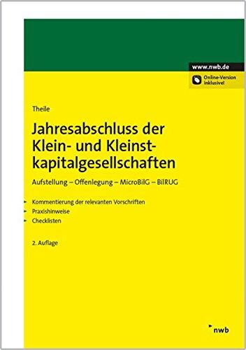 9783482648427: Jahresabschluss der Klein- und Kleinstkapitalgesellschaften