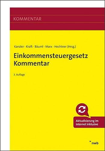 Einkommensteuergesetz Kommentar: Marion Agatha; Hans-Ulrich