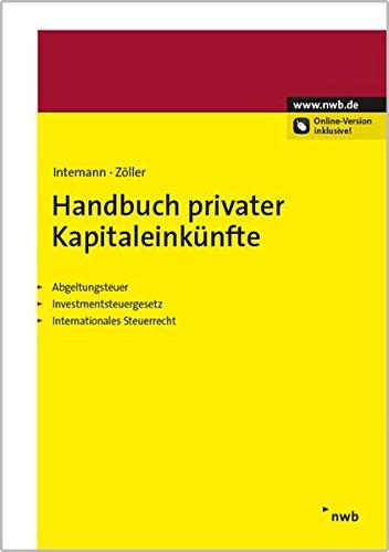 Handbuch privater Kapitaleinkünfte: Björn Bieling
