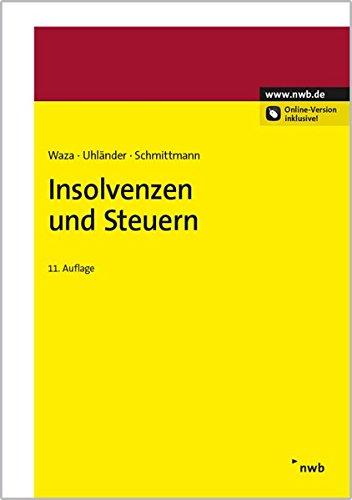 Insolvenzen und Steuern: Thomas Waza