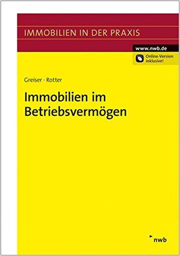 Immobilien im Betriebsvermögen: Jana Greiser