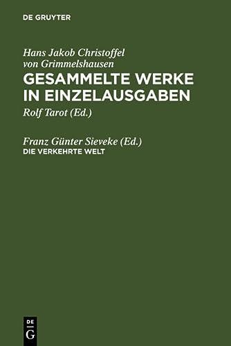 9783484101951: Gesammelte Werke in Einzelausgaben: Des Abentheuerlichen Simplicii Verkehrte Welt