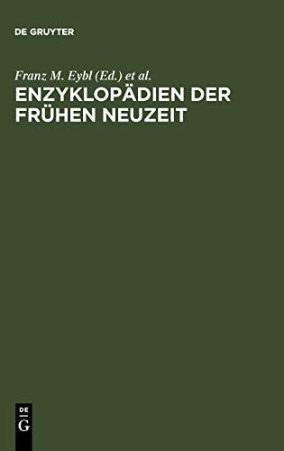 Enzyklopädien der Frühen Neuzeit: Franz M. Eybl