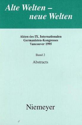 9783484107168: Alte Welten - Neue Welten