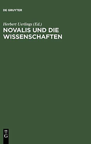 9783484107410: Novalis Und Die Wissenschaften