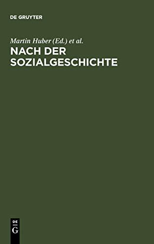 9783484108295: Nach der Sozialgeschichte: Konzepte für eine Literaturwissenschaft zwischen Historischer Anthropologie, Kulturgeschichte und Medientheorie