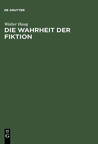 9783484108530: Die Wahrheit der Fiktion (German Edition)