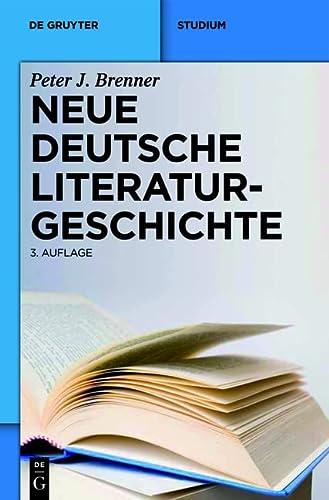 9783484108974: Neue deutsche Literaturgeschichte: Vom �Ackermann� zu G�nter Grass (de Gruyter Studium)