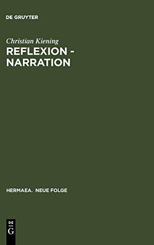 9783484150638: Reflexion - Narration: Wege Zum