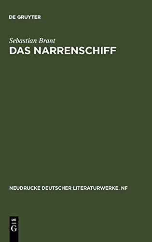 9783484171053: Das Narrenschiff: Nach der Erstausgabe (Basel 1494) mit den Zusätzen der Ausgaben von 1495 und 1499 sowie den Holzschnitten der deutschen Originalausgaben: Pt. 5 (Neudrucke Deutscher Literaturwerke)