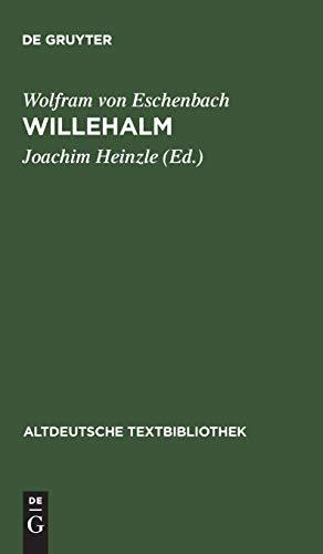 9783484202085: Willehalm: Nach der Handschrift 857 der Stiftsbibliothek St. Gallen: v. 108 (Altdeutsche Textbibliothek)