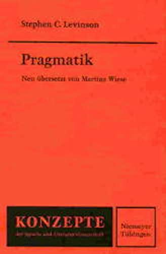 Pragmatik: LEVINSON Stephen C.
