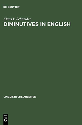 9783484304796: Diminutives in English