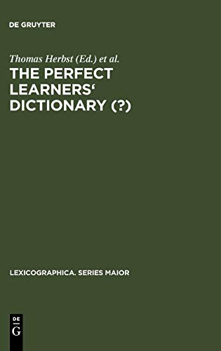 The Perfect Learners' Dictionary (?) (Lexicographica. Series