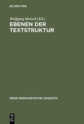 Ebenen der Textstruktur: Wolfgang Motsch
