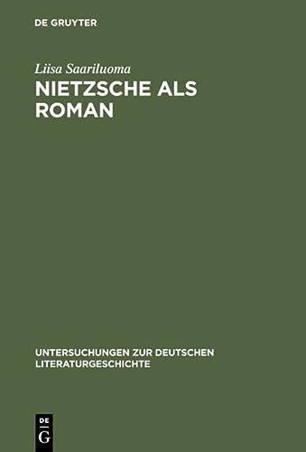 Nietzsche als Roman: Liisa Saariluoma