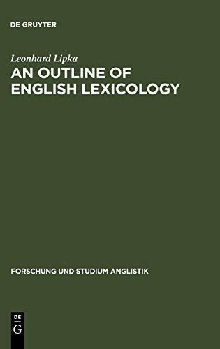 9783484410039: An Outline of English Lexicology