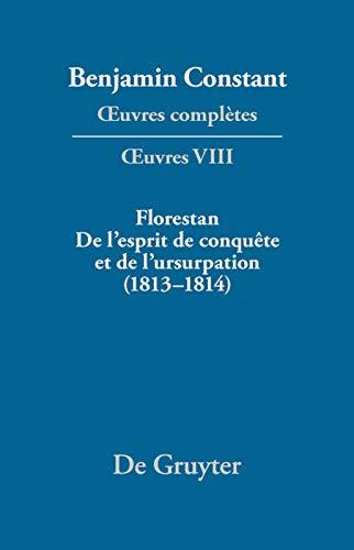 9783484504080: Benjamin Constant (Oeuvres Complete Works)
