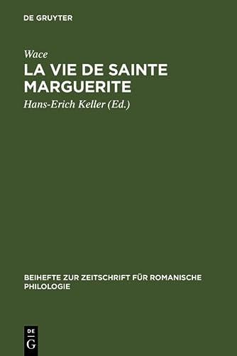 9783484522299: La vie de Sainte Marguerite (Beihefte zur Zeitschrift für romanische Philologie)