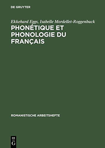 9783484540347: Phonétique Et Phonologie Du Français: Théorie Et Pratique