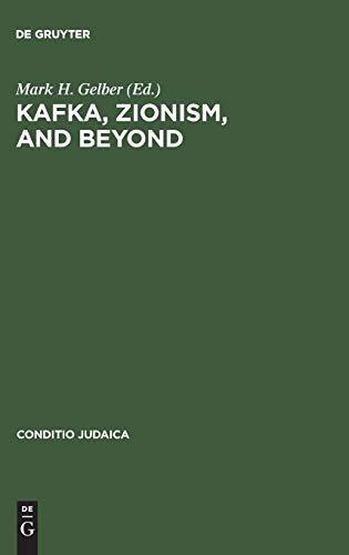 9783484651500: Kafka, Zionism, and Beyond (Conditio Judaica) (Pt. 50)